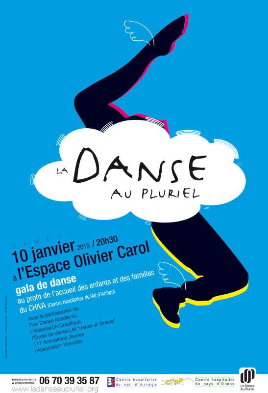 affiche danse pluriel 2015